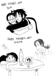 Happy Father's Day by JutaWi