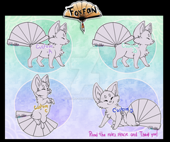 Foxfans customs // AUCTION//  CLOSED by Belliko-art