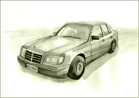 Mercedes Benz by MartaDeWinter