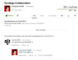 Markiplier answered my comment :D by rzkdoom94