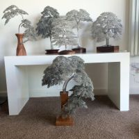 Six WireWood trees by CliveBarrieMaddison