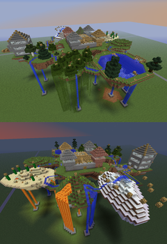 Sky Biome Island by redryan2009