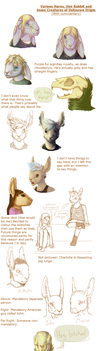 Hares (With Commentary) by PhrogSpawn258