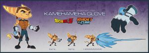 Ratchet and Clank-Kamehameha Glove by Gashu-Monsata