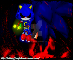 Metal Sonic vs Sonic.exe by NicteJeffMephiles