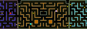 Jr. Pac-Man desktop background wallpaper 5760x1080 by Mecandes