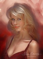 Beautiful Eyes CLAUDIA SCHIFFER by Amro0