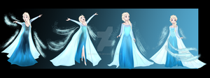 Commission - Elsa TG 2/2 - ToriRay128 by Luxianne