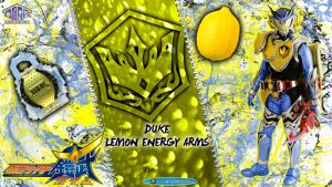 Kamen Rider Duke Lemon Energy Arms by blakehunter