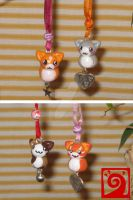cat charms by Luna-cuteXD