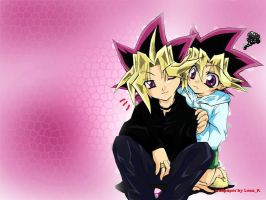 YamixYugi wallpaper 12 by Sitriel