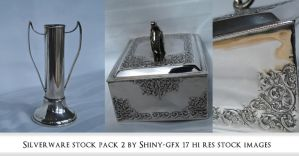 Silverware stock pack 2 by The-Average-Alex