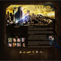 'Forever' Myspace layout by InfeK7