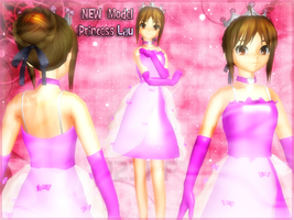 MMD-New model Princess Lau by TaniaVocaloid