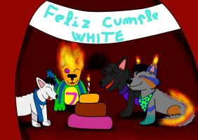 Cumple White 2015 by Quilmer