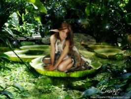 . . Jungle Fairy . . by Emane1983