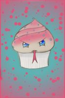 Venemous Cupcake (Colored) by LeFay-Strent