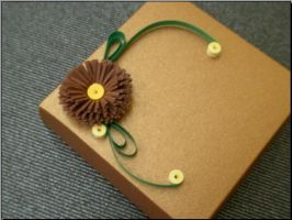 Flower on box by 3annabah