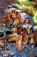 Avengelyne Warrior Nun 1 cover by John-Stinsman