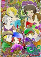 APH:: Four Seasons collab by blood-pleasures