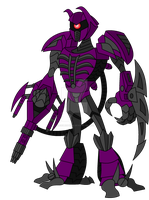 TFA Movieverse Shockwave by AleximusPrime