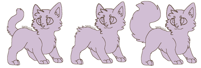 Cat Lineart Free By Leaf Commune