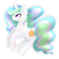 Princess Celestia by grandifloru