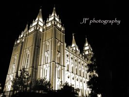 the salt lake temple by TheNightsFury