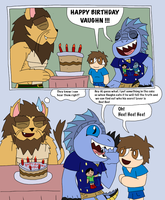 Happy Birthday Comic to SaturnBoy by MagicArt1