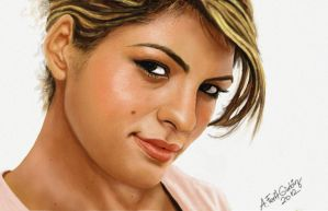 Beautiful Eva Mendes by eryxfrt