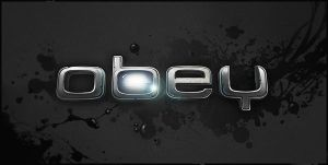 Logo for short movie 'Obey' by ScriptKiddy