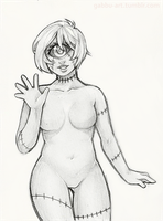 Sketch Commission: Nicole by Gaz-Monster
