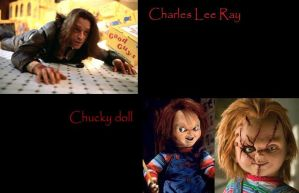 Chucky and Charles Lee Ray by Chucky15072009