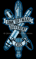 Doctor Who: Same Software, Different Case by sugarpoultry