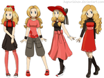 Serena alt oufits by Hapuriainen