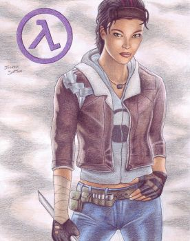 Alyx Vance by crystalunicorn83