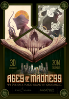 Ages of Madness poster animation film by zinkase
