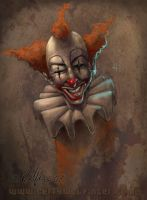 Mr. Clown by WolfieArtGuy