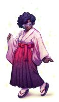 Kimono and Glasses by CamiFortuna