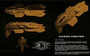 Kazon Fighter ortho by unusualsuspex