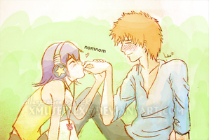 IchiRuki_Me Want Chocolate by xmusettex
