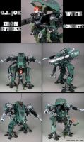 GI Joe Iron Strike mech Custom by Jin-Saotome