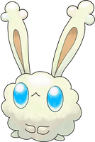 Dust Bunny Commission by Smiley-Fakemon