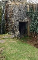 Stock door and waterfall by Sheiabah-Stock