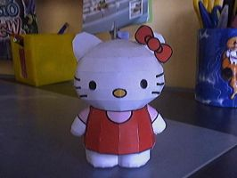 Hello kitty papercraft by Marlous2604