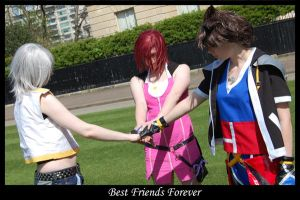 Keyblade Trio - BFF by Castle-Oblivion-UK