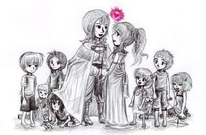 The New Royal Household by sweet-suzume