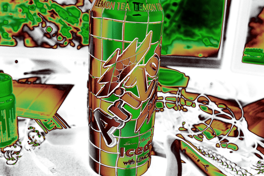 Arizona Tea Gradient Test by Seveer-rM