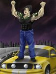 Eddie: The drag racing karate master by uniqueguy