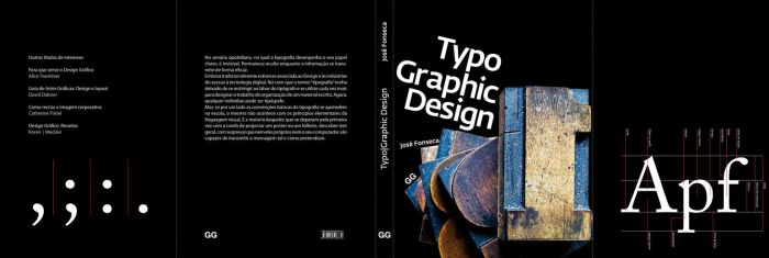Bookcover Typo Graphic Design by veiartistica